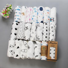 Amazon Hot Sale Muslin Baby Swaddle Blanket High Quality India 100% Cotton Wrap Blanket
