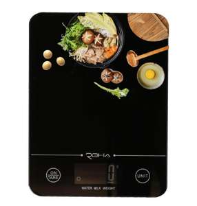 TSEC Amazon Hot Sale Tempered Glass 10kg Cheap Electronic Kitchen Scale With LCD Backlight CE ROHS food scale digital kitchen