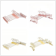 Metal Clips for Display Rose Gold with Logo Copper Bra Underwear lingerie Hanger