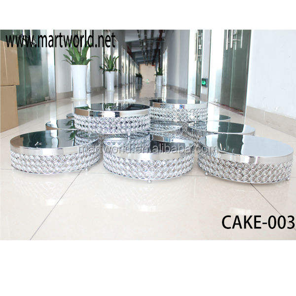 Factory price metal crystal cake 서 대 한 케이크 숍, wedding. 트. 를 & 자; 최신 crystal cake 서 wedding decoration 부 칙 (케이크-003)