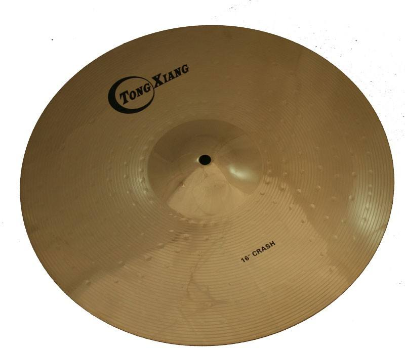 "TF brass cymbal set 14""hihat 16""crash 20""ride practice cymbal for sale"