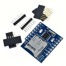 Real Time Clock Data Log Logger Shield for Micro SD  WIFI D1 Mini Board +RTC DS1307 Clock