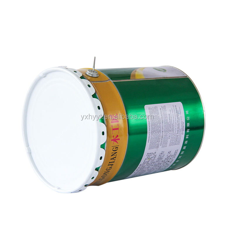 Hongyuan metal cans label printing and dyeing technology
