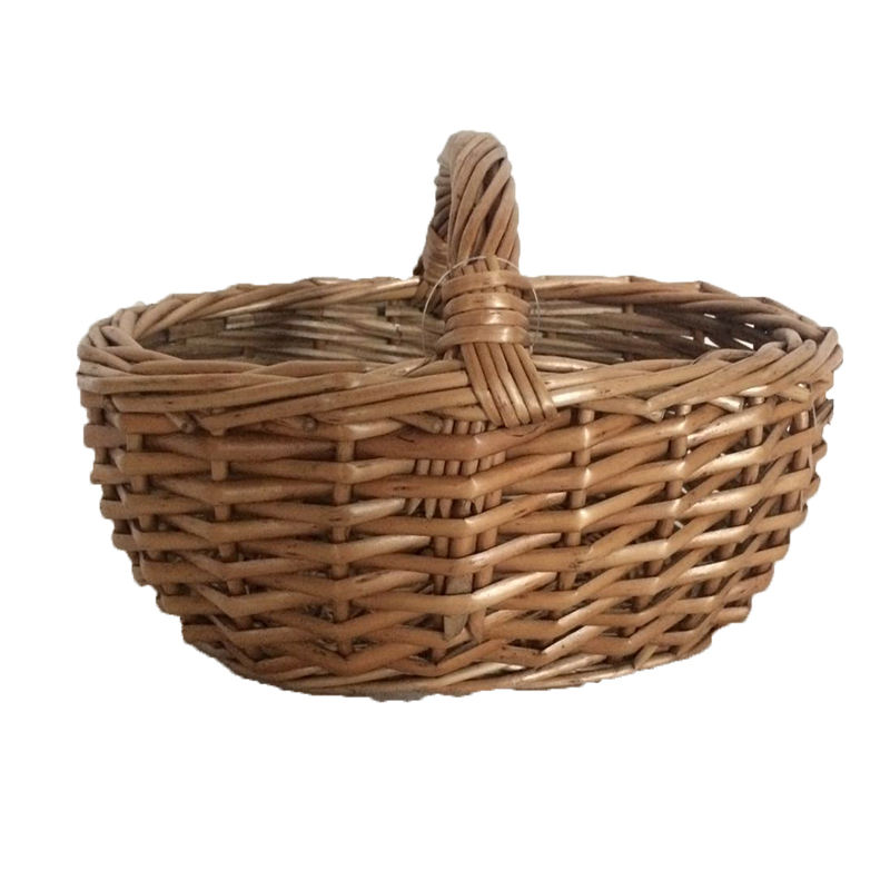 Wicker Basket With Handle Christmas Gift Willow Basket Gift