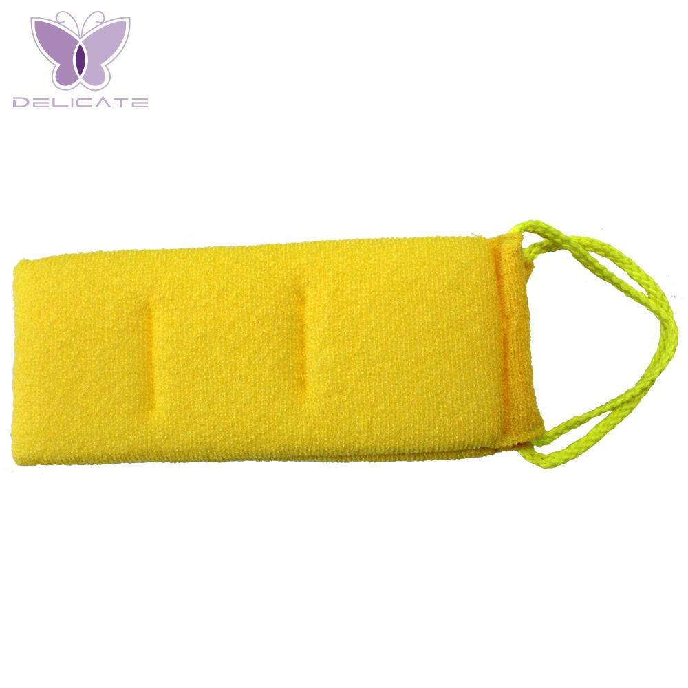Long Rubbing Washcloth Bath Brush For Back Towels Exfoliating Scrub Shower Sponge For Body Bathroom Accessories Nylon Towel