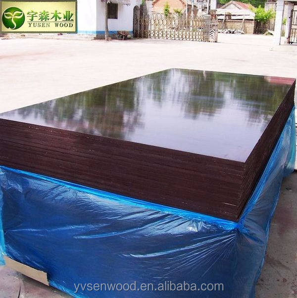 40 times repeated use plastic concrete form work plywood