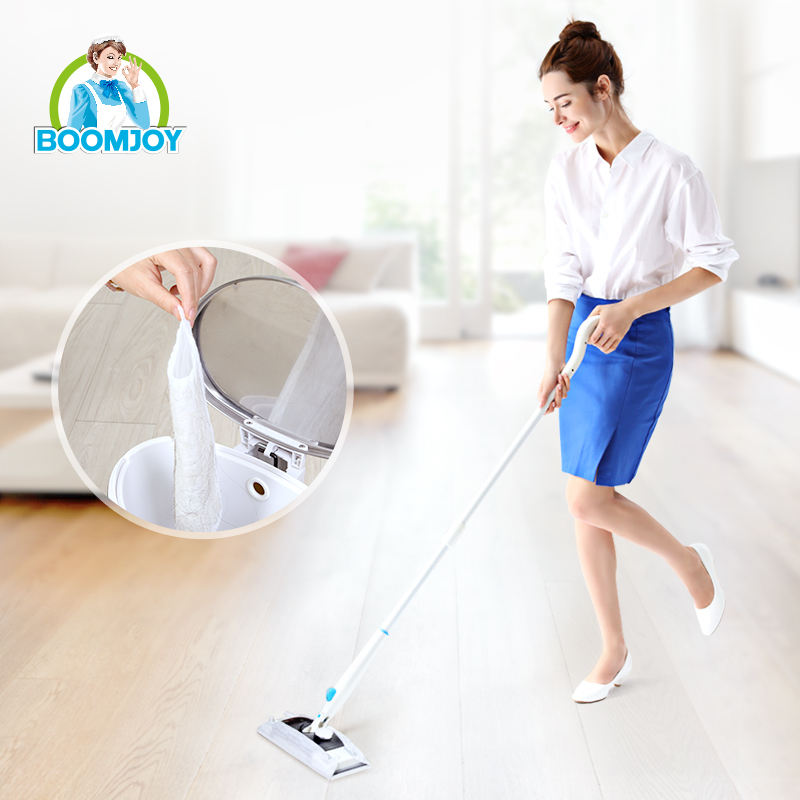 Boomjoy N6 Sweeper Cleaner Dry Mop Kit for Cleaning Hardwood and Floors Disposable Non-woven Tissue SPRAY MOP