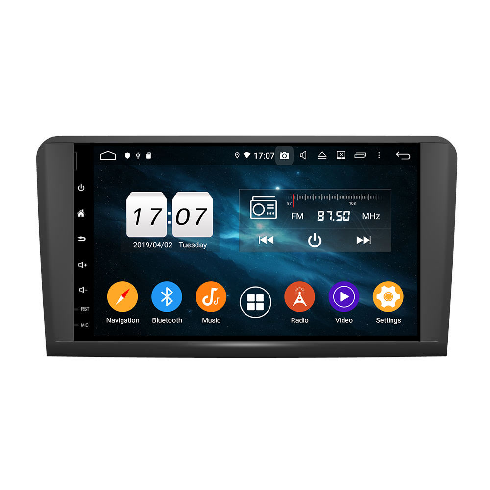 KD-9629 Octa core android 9.0 auto <span class=keywords><strong>dvd</strong></span> player mit 9 zoll touchscreen für ML CLASS W164 (2005-2012) (ML300,ML350,ML450, ML500)