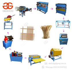 High Quality Barbecue Bamboo Wooden Toothpick Maker Shaping Making Machine Incense Stick Production Line