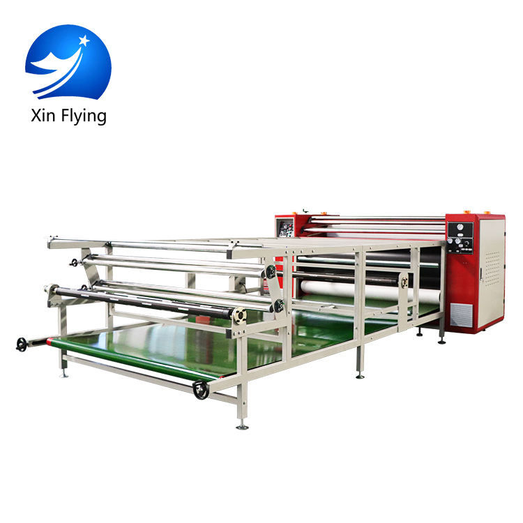Industry Large Format Calandra Machine Textil Fabric Heat Press Machine Sublimation Calander For Fabric
