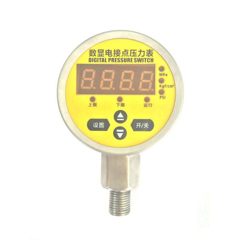 Elektronische bescherming 4 digit LED display digitale MPa manometer