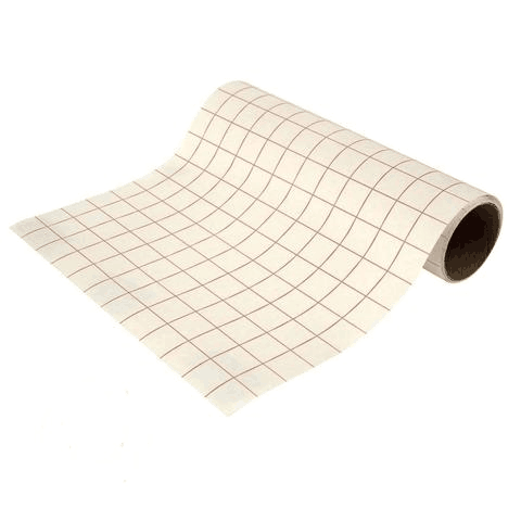 RED GRID INK JET IRON ON HEAT TRANSFER PAPER LIGHT COLORS 10 Sheets PK A4
