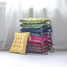 Window Pads Color Sofa Cushion Europe Plain Square Seat Back Indoor Velvet Corduroy Comfortable Manufacture Multicolor Chair