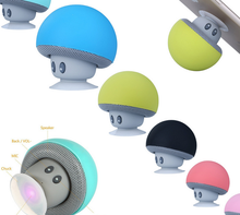 Ekinge HOT sale waterproof mini wireless speaker waterproof Mushroom speaker with strong suction cup