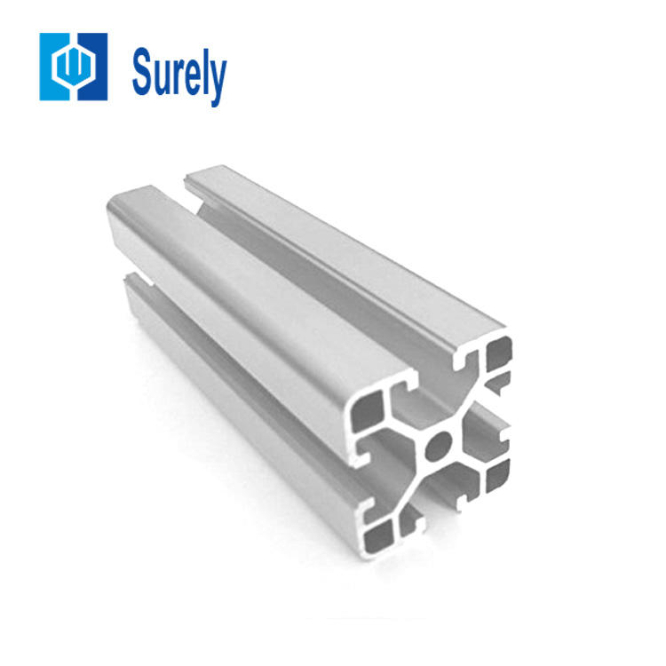 China manufacture price customized extruded aluminum rectangular tube