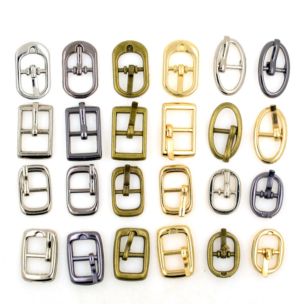Wholesale for women Custom-made zinc alloy shoes accessories metal shoe buckles