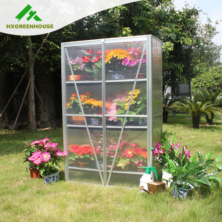 HX64224 Flower pot widely used homely economy mini greenhouse for backyard