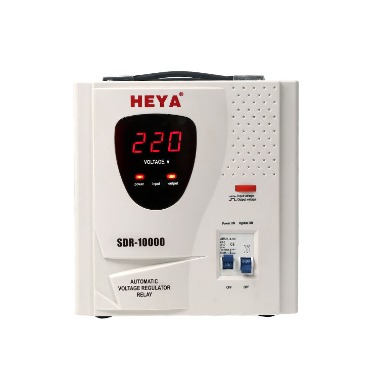 10000VA Single Phase Automatic Voltage Stabilizer 10KVA With Fan
