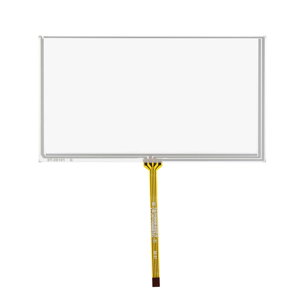 148*82 Glas Touch Digitizer 4 Draads Resistive 6 inch Touch Screen
