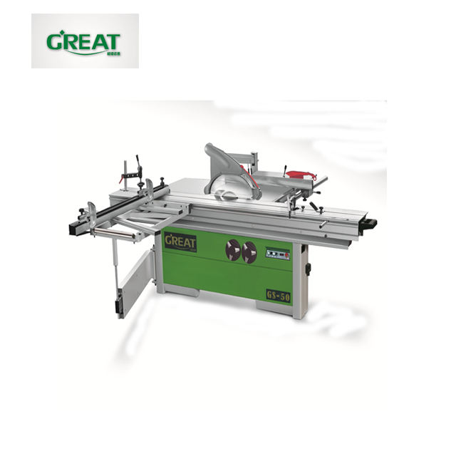 wooden sawing machine with sliding table panel saw machinery