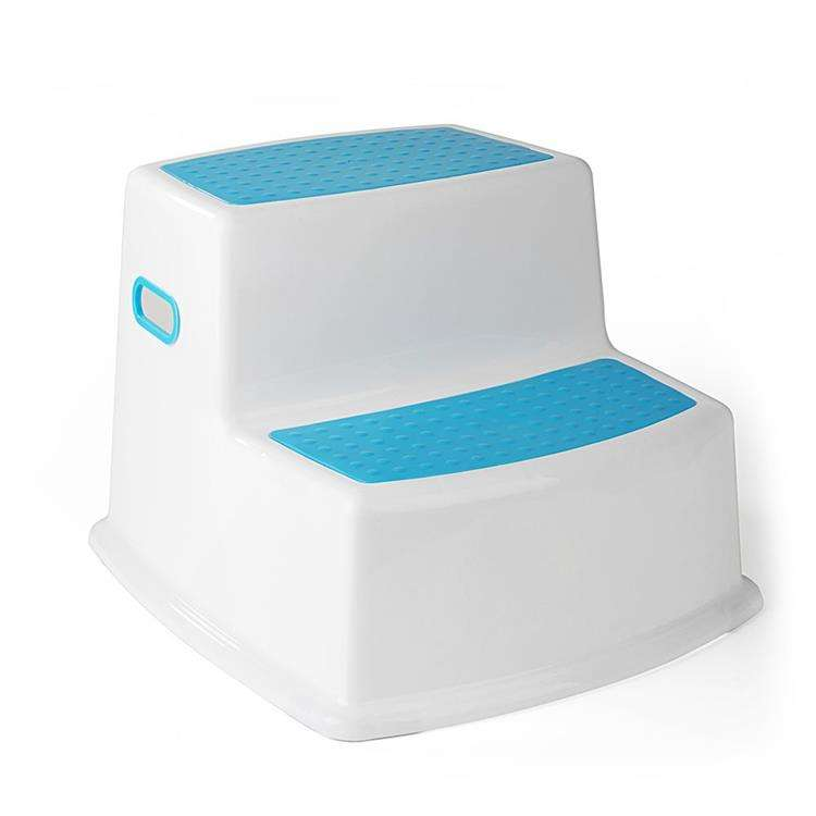 Newest design top quality useful plastic 2 step stool