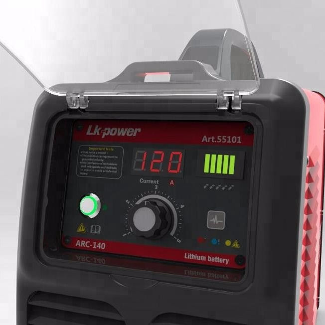 Portable MMA /ARC 140A Lithium Battery Rechargeable Welder 002