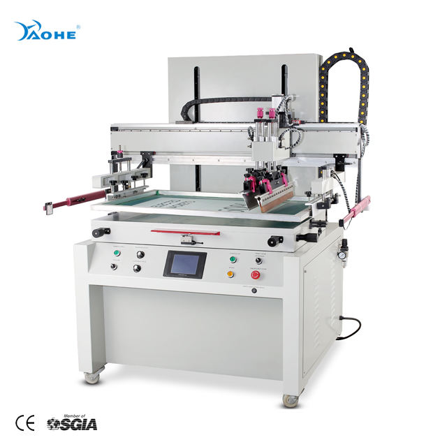 Flat Bed Screen Printing Machine for Heat Transfer Film Printing