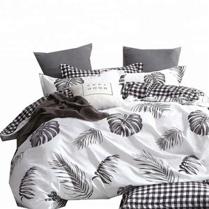2020 New designs cotton fabric wholesale cheaper factory price duvet cover set