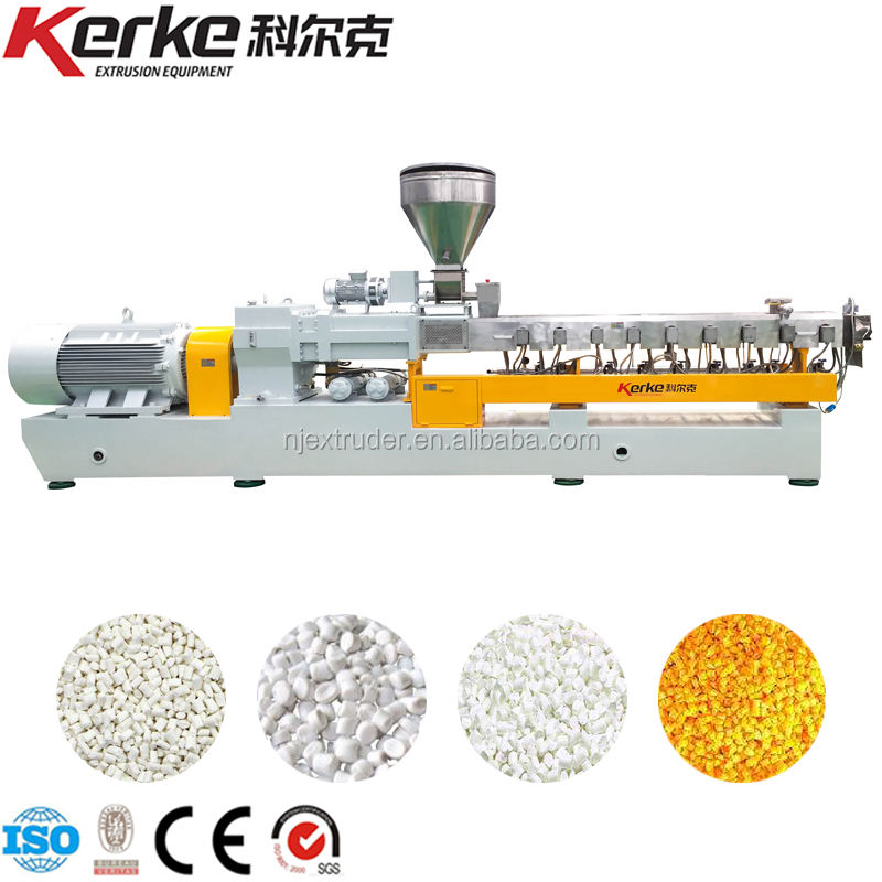 Plastic Polymer Granule Making Machine With CE