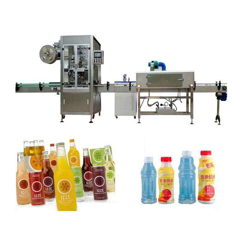 YB-TB200 Automatic Shrink sleeve applicator with steam tunnel heating bottle shrink sleeve Labeling Machine
