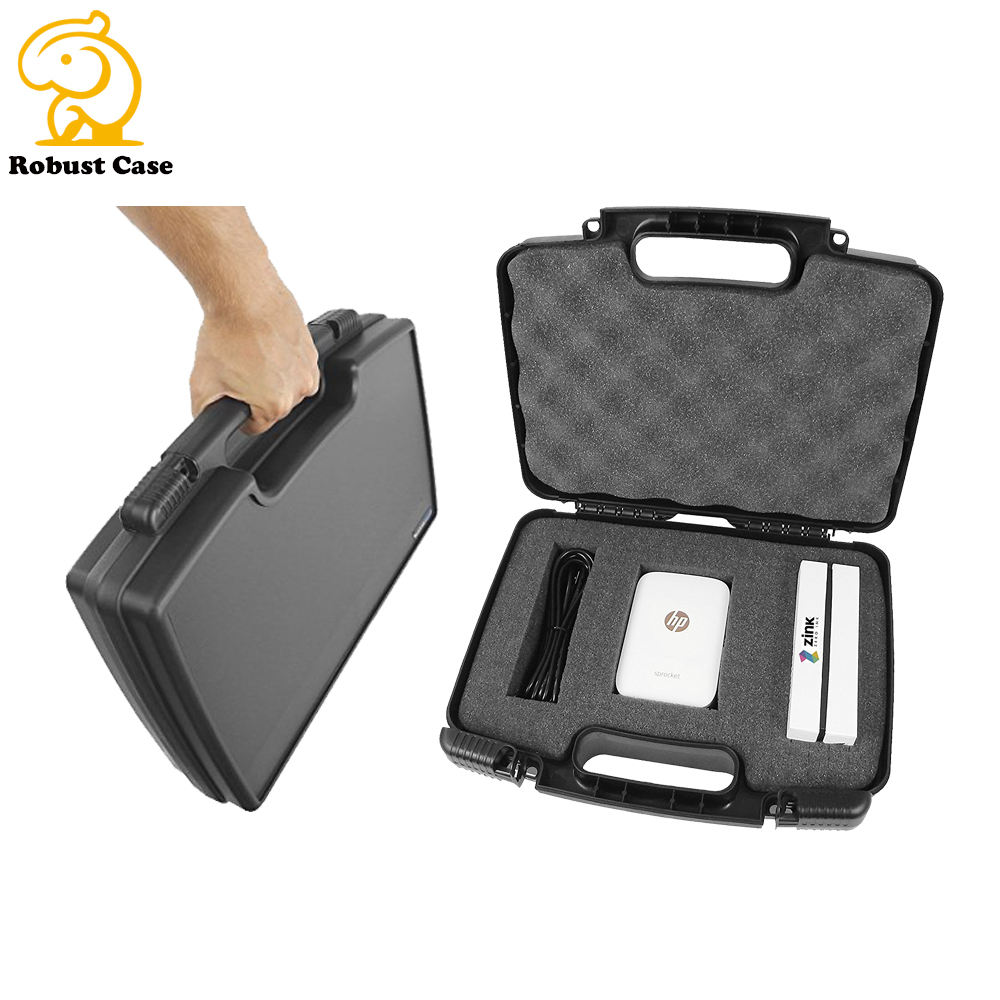China suppliers injection molded plastic telescope case carry pp box with foam