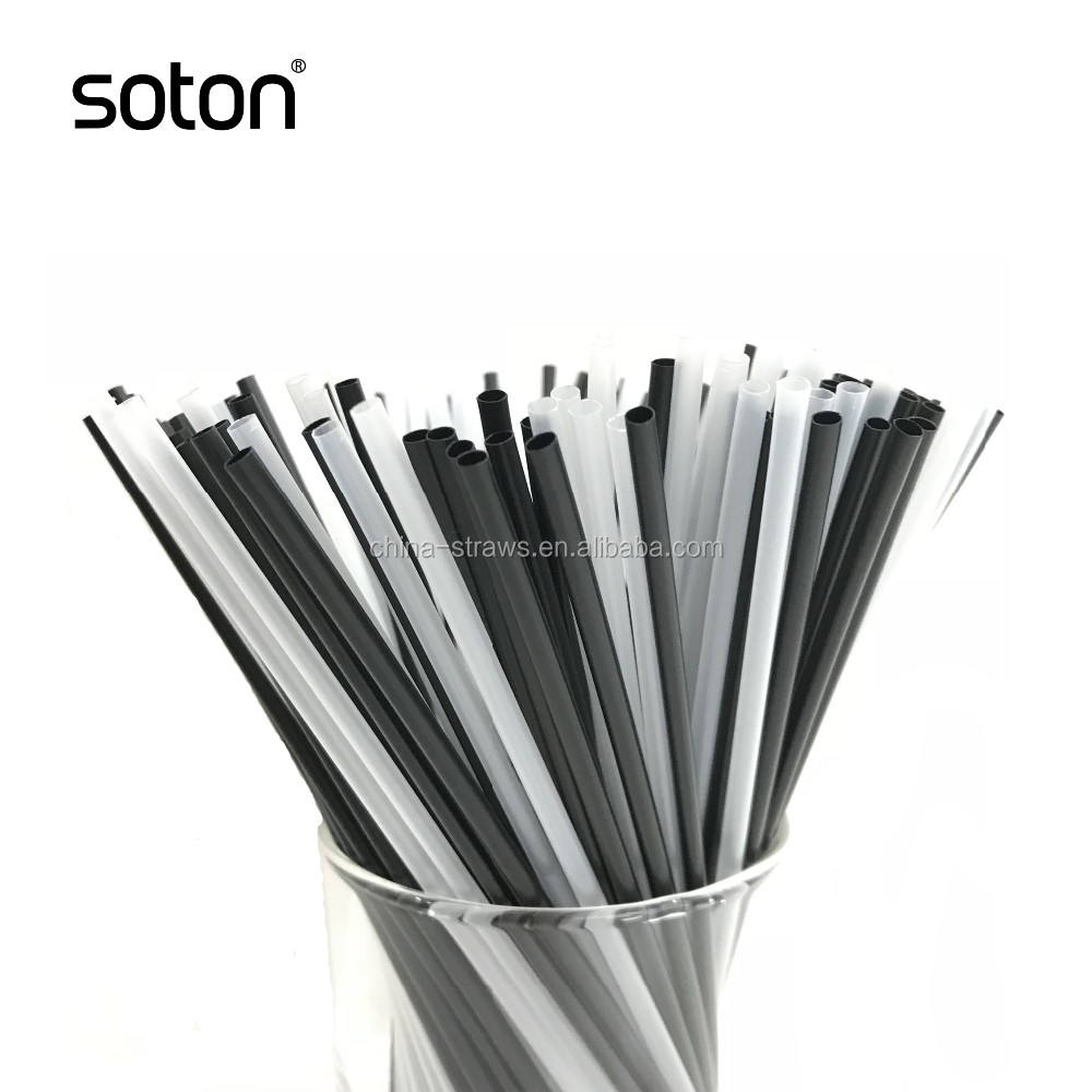 Disposable plastic bendy Artistic drinking straw