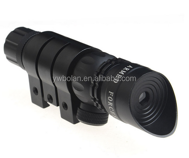 Mini Red Laser Sight 5mw 650nm Red Laser Scope Tactical Aluminium Alloy Lasers with Rifle Shot Gun Mount Hunting Optics