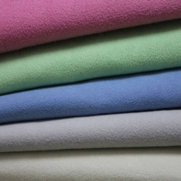 80 polyester 20 polyamide material two side brushed microfiber fabric for towel