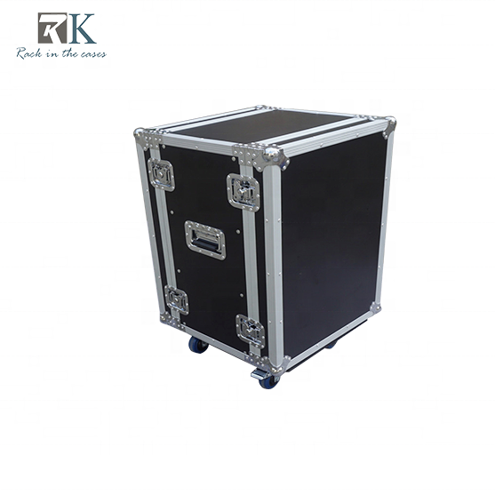 "24 ""<span class=keywords><strong>16U</strong></span> 증폭기 deluxe case red road case flight case"