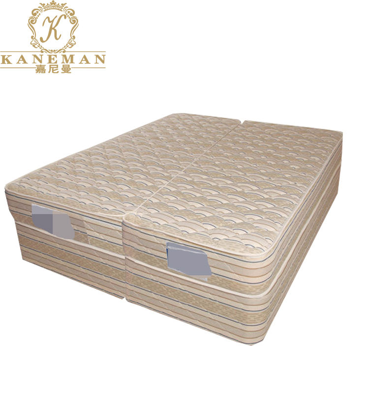 Australia market zip apart connected Super King Split hotel mattress for bed