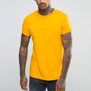 Wholesale High Quality Pima Cotton 220g Slim Fit Shortsleeve Plain Custom T-shirt Men T Shirt