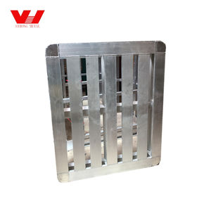Industrial extruded heavy duty customized size aluminum pallet