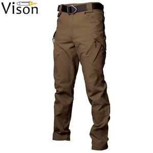 urban Outdoor waterproof Tactical Men Army cargo pants waterproof camouflage pant trousers black tactical pants