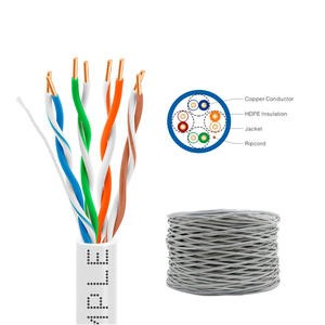 1000FT Cu Cca Kat 5 Netwerk Kabels 24AWG Utp Cat5e Kabel Met 305 M/box
