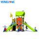 YL-E006 Outdoor playground LLDPE galvanized pipe material amusement park