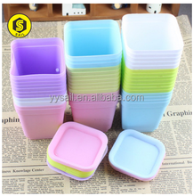 OEM plastic flower pot with different color