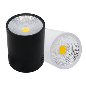LED Downlights 3W 5W 7W 10W 15W Surface Mounted Ceiling Lamps Spot Light AC85-265V Surface Mounted Down Light