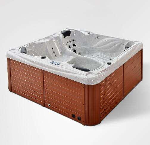 Plus grand baignoire en plein air prix/bain à remous gazebo/spa extérieur avec étape