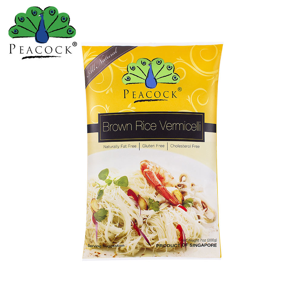 200G Peacock Halal Brown Rice Noodle Vermicelli