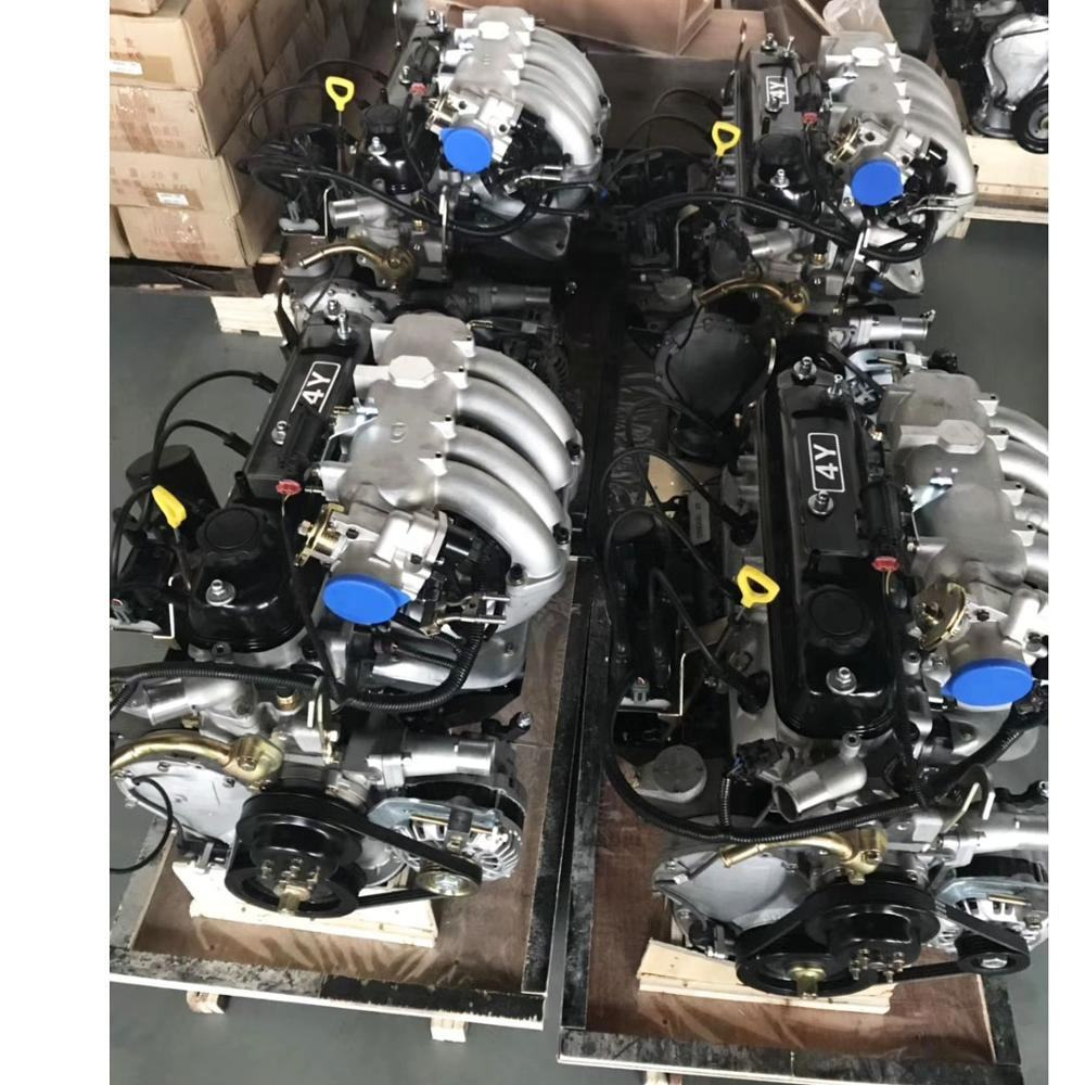 Factory supply gasoline hiace hilux 4Y EFI electric injection engine for Daihatsu Delta truck, Van, Crown, Hiace, Hilux,forklift