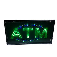 2018 New Design Printed Neon LED Open Signs ATM Sign