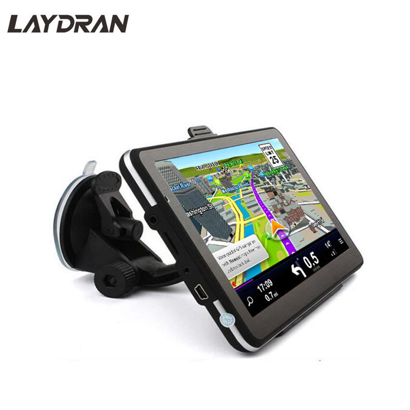 7.0 inch Multifunctional MTK GPS Navigation Device with BT AV IN RAM 256MB ROM 8GB EU/US/Poland Map