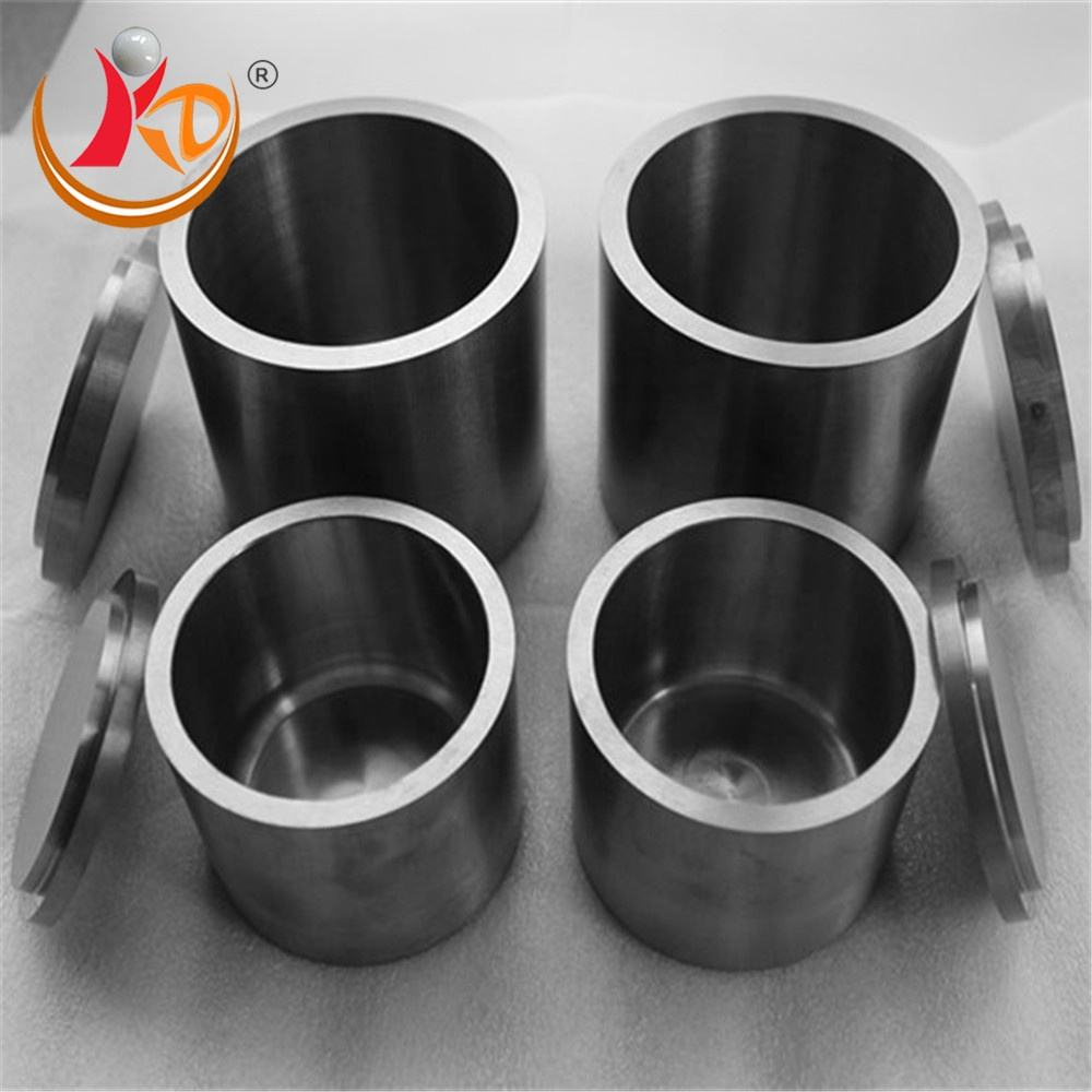 Durable WC tungsten carbide grinding jar for planetary ball mill