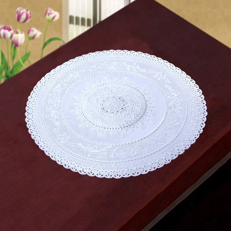 Round Table PVC Coil Mats placemat